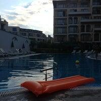 Photo taken at Rose Village Swimming Pool by Юля М. on 8/2/2013