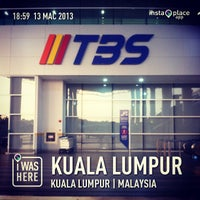 Photo taken at Terminal Bersepadu Selatan (TBS) / Integrated Transport Terminal (ITT) by Mohamad Hilmi O. on 3/13/2013