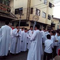 Photo taken at Sta. Clara de Montefalco Parish Church by Wheng Q. on 4/18/2014