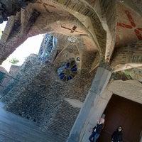Photo taken at Cripta Gaudí by Tez Tour B. on 5/25/2013