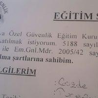 Photo taken at asya özel güvenlik by Gözde A. on 12/23/2014