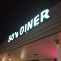 Photo taken at The 50's Diner by Jamie D. on 9/14/2014