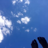 Photo taken at Ротонда в Екатеринском Парке (южная) by Natalie Z. on 7/19/2014