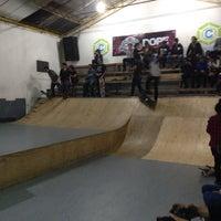 Photo taken at central skatepark by Edgar C. on 10/10/2014