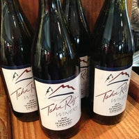 Photo taken at Tahoe Ridge Winery and Bistro and Olive Oil Market by Roshell W. on 8/14/2013