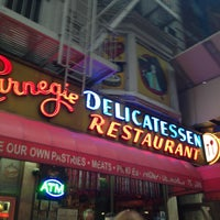 Photo taken at Carnegie Deli by Roshell W. on 5/11/2013