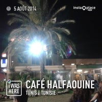Photo taken at Café Halfaouine by Ghaufrane T. on 8/7/2014