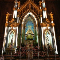 Photo taken at Minor Basilica of San Sebastian (Shrine of Our Lady Of Mount Carmel) by Boyax J. on 7/16/2013