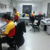 Photo taken at DHL Express Sdn. Bhd. by mohd safie i. on 5/13/2013