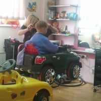 Photo taken at СТРИЖка-МАЛЫШка, парикмахерская для детей by Kate M. on 5/12/2013