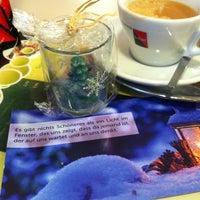 Photo taken at Cafe Bäckerei Woltron by Martin E. on 11/23/2013