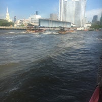Photo taken at Wat Suwan Cross River Ferry Pier by Gokhan S. on 7/26/2016