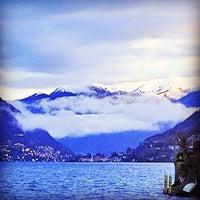 Photo taken at Lido di Villa Geno by Richard J B W. on 12/29/2013