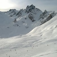 Photo taken at Piste du Chenus (2243m) by Александр Н. on 1/6/2014