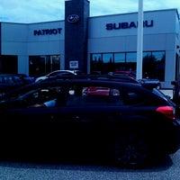 Photo taken at Patriot Subaru by Dale R. on 7/17/2014