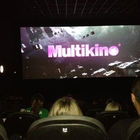 Photo taken at Multikino by Birutė M. on 5/17/2013