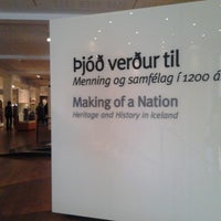 Photo taken at National Museum of Iceland by Anna B. on 7/5/2013