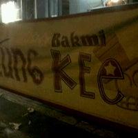 6/10/2013 tarihinde Stevan C.ziyaretçi tarafından Bakmi Lung Kee'de çekilen fotoğraf