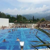 Photo taken at Slovenska Plaza Pool by Marina B. on 8/18/2013