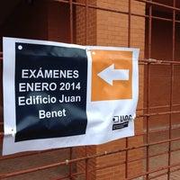 Photo taken at Edificio Juan Benet by Jose Ramón C. on 1/15/2014