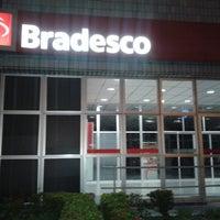 Photo taken at Bradesco - Agência Educandos by Ellen L. on 11/23/2013