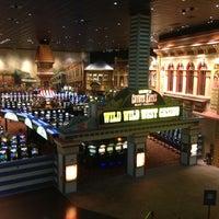 Photo taken at Wild Wild West Casino by Melissa P. on 4/28/2013