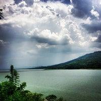 Photo taken at Lam Takong Dam by Pathompong R. on 5/16/2013
