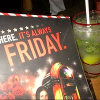 Photo taken at T.G.I. Friday's by Veronica A. on 10/30/2012