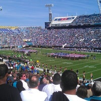 Photo taken at EverBank Field by Matthew M. on 11/4/2012