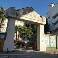 Photo taken at Gazi Anadolu Lisesi by ZELİŞŞŞŞ R. on 1/22/2017