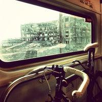 Photo taken at PATH - Harrison Station by D. Bob on 11/17/2012