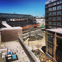 Photo taken at Brooklyn Navy Yard Center at BLDG 92 by D. Bob on 4/6/2013