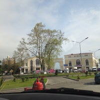 Photo taken at Лукойл АЗС № 130 by Ksenia C. on 4/23/2014