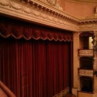 Photo taken at Teatro Storchi by Francesco P. on 3/2/2013