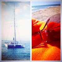 Photo taken at Riviera by Lyubov . on 7/17/2014