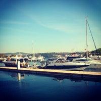 Photo taken at İstinye Marina by Sadettin T. on 10/13/2012