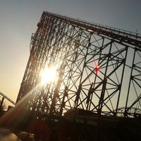 Photo taken at Blackpool Pleasure Beach by Nono . on 8/26/2013