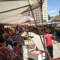 Photo taken at Dumlupınar Cumartesi Pazarı by Çağlar K. on 7/28/2013