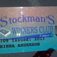 Photo taken at Stockmans Casino by Corinna A. on 6/11/2013