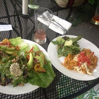 Photo taken at Sugar Plum Vegan Cafe by Warren S. on 6/2/2013