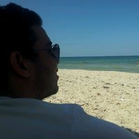 Photo taken at Beach by Said S. on 6/12/2013