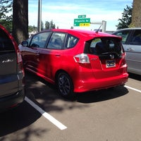 Photo taken at Wilsonville Honda by Jean M. on 7/30/2014