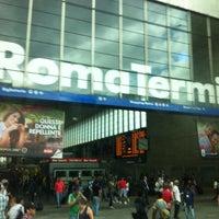 Photo taken at Roma Termini Railway Station (XRJ) by Giselle O. on 6/26/2013