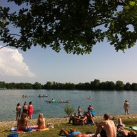 Photo taken at Baggersee Kork by Giselle O. on 6/9/2014