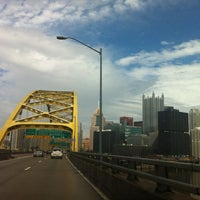 Photo taken at Pittsburgh Tunnel by Lily I. on 4/4/2014