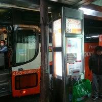 Photo taken at Bus Stop 24 - Shinjuku Sta. West Exit by OSSAN on 11/15/2017