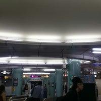 Photo taken at Sakaisuji Line Minami-morimachi Station (K13) by OSSAN on 6/8/2017