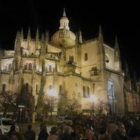 Photo taken at Catedral de Segovia by Erik K. on 3/29/2013