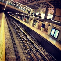 Photo taken at Metro Marquês de Pombal [AM,AZ] by Ricardo F. on 12/11/2012