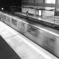 Photo taken at Metro Marquês de Pombal [AM,AZ] by Ricardo F. on 3/6/2013